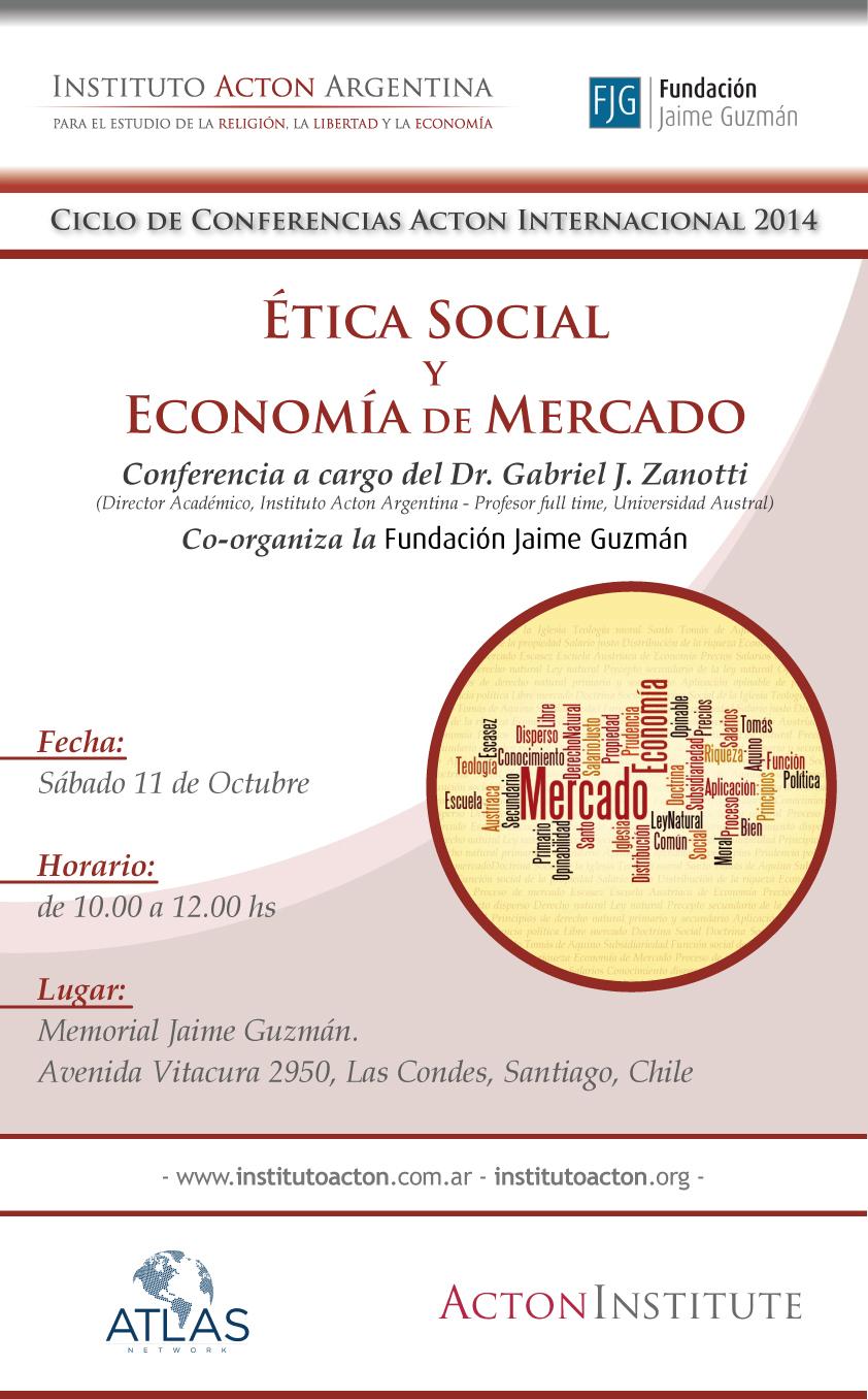 Afiche - Ética Social y Economía de Mercado - IAA - FJG - (2)