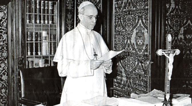 El Papa Pío XII y ´el sustituto´