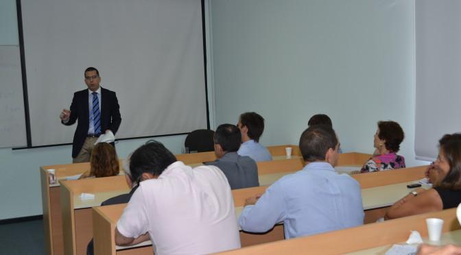 Conferencia de Mario Šilar sobre Empresarialidad, Instituciones y Cristianismo
