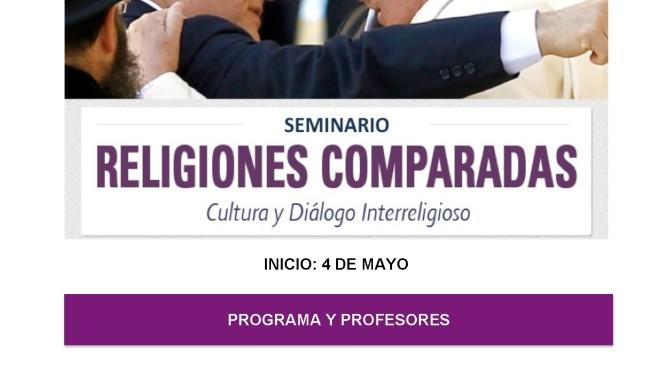 Evento recomendado: Seminario sobre Religiones Comparadas