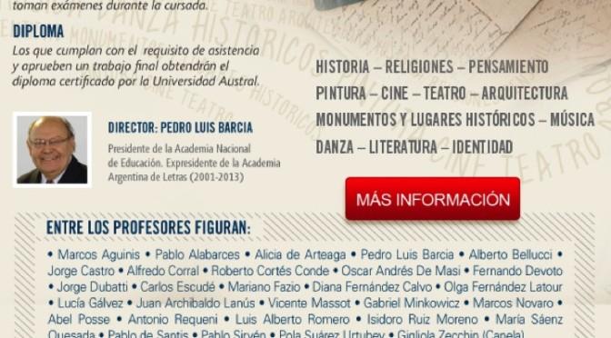 Evento recomendado: Diplomatura en Cultura Argentina