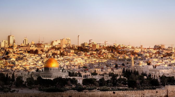 Ciudad sagrada: Jerusalén