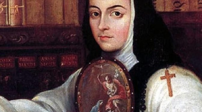 Sobre una carta de Sor Juana Inés de La Cruz – Bernardo Prieto Villafuerte