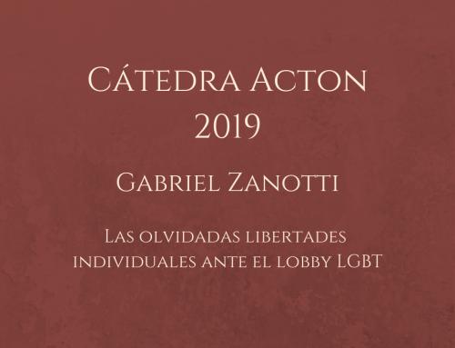 CÁTEDRA ACTON 2019