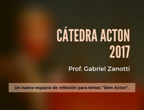 Cátedra Acton 2017
